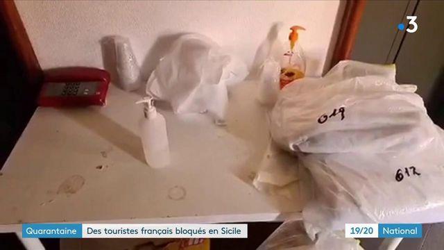 Sicile : des touristes français placés en isolement dans des conditions insalubres