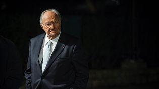 Le président du Crif, Roger Cukierman, le 4 mars 2014, lors du dîner annuel du Crif. (  MAXPPP)
