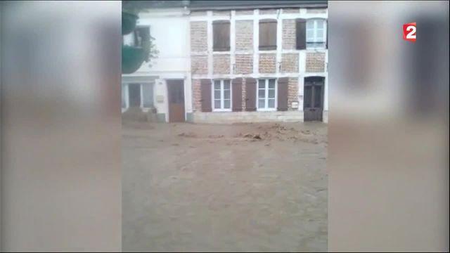 Inondations : le Pas-de-Calais dévasté