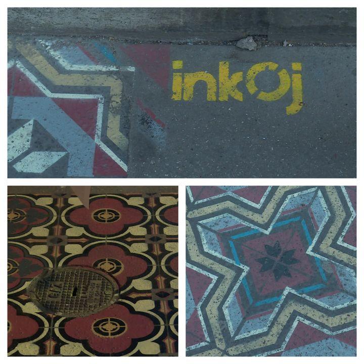 Les oeuvres d'InkOj tapissent les trottoirs de Rouen (France 3 Normandie)
