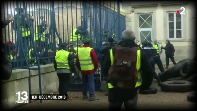 """""""Gilets jaunes"""" : inquiétude au Puy-en-Velay"""