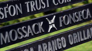 Créé par deux avocats panaméens, le cabinet Mossack Fonseca est spécialisé de la mise en place de société offshores à l'aide de prête-noms. (RODRIGO ARANGUA / AFP)