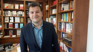 Guillaume Musso, écrivain. (SEBASTIEN BAER / FRANCEINFO / RADIO FRANCE)