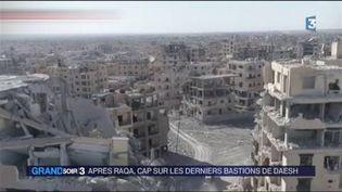La ville de Raqa a été détruite pendant les combats. (FRANCE 3)