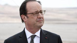 François Hollande, au Chili, le 22 janvier 2017. (STEPHANE DE SAKUTIN / AFP)