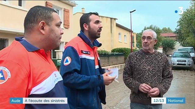 Inondations dans l'Aude : les cellules de soutien psychologie au chevet des sinistrés