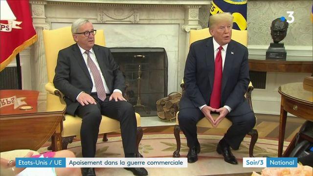 Commerce : accord trouvé entre Etats-Unis et Union européenne