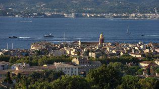 Une vue de Saint-Tropez (Var),en 2014. (RIEGER BERTRAND / HEMIS.FR / AFP)