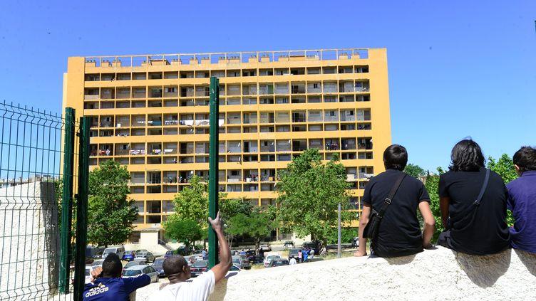 Vue de la cité Corot, à Marseille, en juin 2013. (MAXPPP)
