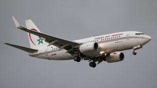 Boeing 737 de la Royal Air Maroc (RAM) atterrissant à Londres, le 28 octobre 2020. (MI NEWS / NURPHOTO)