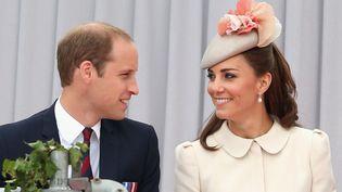 Le prince Williams et sa femme Kate, ici à Liège (Belgique) le 4 août 2014. (CHRIS JACKSON / AFP)