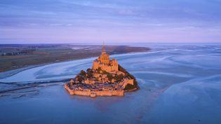 Le Mont Sant Michel le 30 mars 2021. (RIVRIN MATHIEU / HEMIS.FR / HEMIS.FR)