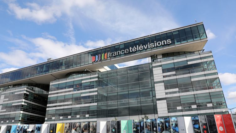 Le siège de France Télévisions, le 4 septembre 2017, dans le 15e arrondissement de Paris. (LUDOVIC MARIN / AFP)