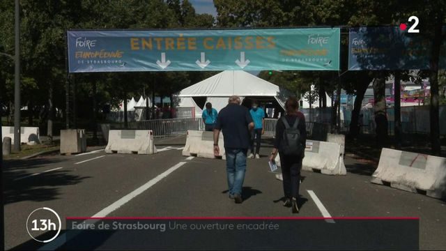 Covid-19 : la foire de Strasbourg ouvre ses portes sous haute vigilance