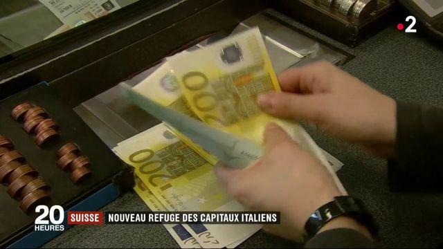 La Suisse, nouveau refuge des capitaux italiens