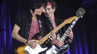 Ronnie Wood et Keith Richards  (AFP)