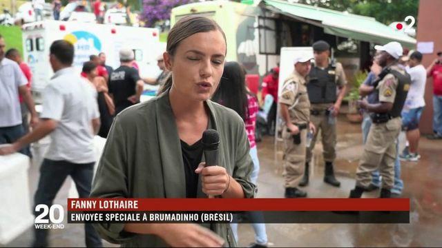 Brésil : la colère des familles des victimes