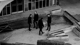 Les quatre membres de Ride, de retour avec un superbe sixième album dans une histoire torturée. (Kalpesh Lathigra)