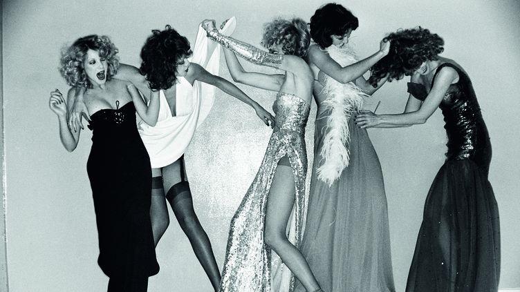"Expo ""Azzaro 50 ans d'éclats"" : model Jessica Jones.  (Werner Bokelberg)"