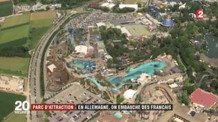 Beaucoup de patrons allemands n'arrivent pas à recruter et se tournent vers la France. C'est le cas du parc d'attractions Europa Park. (FRANCE 2)