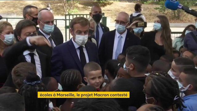 Éducation à Marseille : le projet d'Emmanuel Macron divise