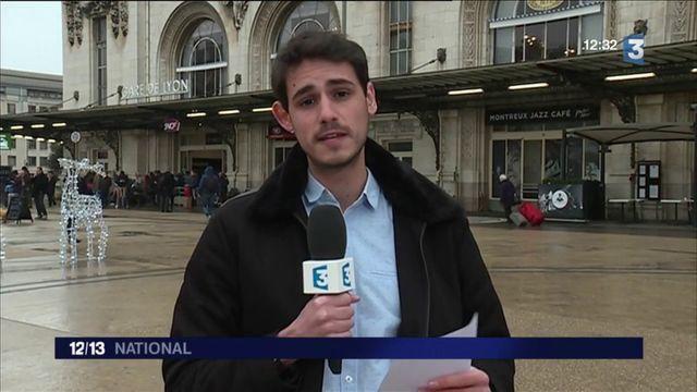 Transports : la SNCF très sollicitée le week-end de Noël