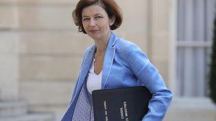 La ministre des Armées, Florence Parly, dans la cour del'Elysée, le 7 juillet 2020. (LUDOVIC MARIN / AFP)