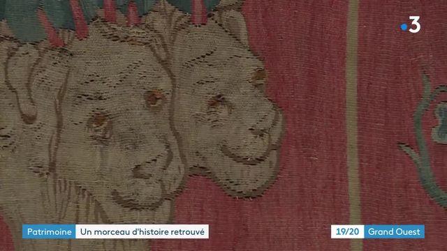 Des fragments de la tenture de l'Apocalypse découverts par hasard à Paris