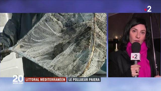 Littoral méditerranéen : le pollueur paiera la facture de la marée noire