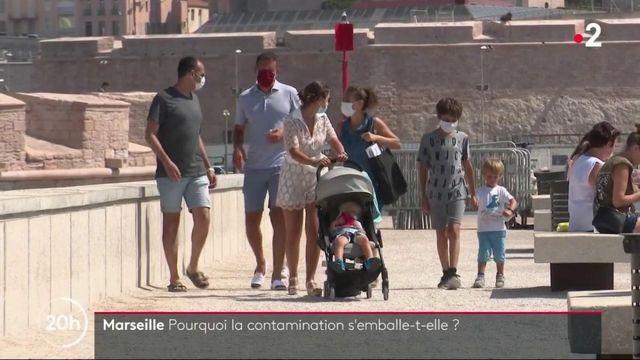 Marseille : comment expliquer la hausse des contaminations au Covid ?