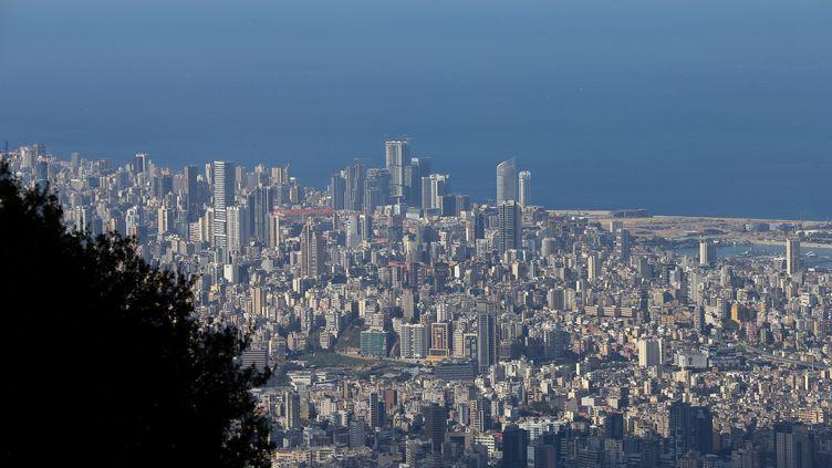 Vue sur la ville de Beyrouth au Liban. (JOSEPH EID / AFP)