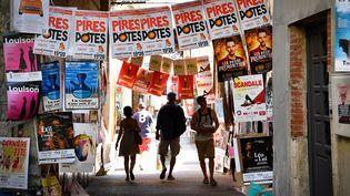 Avignon pendant le festival (juillet 2019) (GERARD JULIEN / AFP)