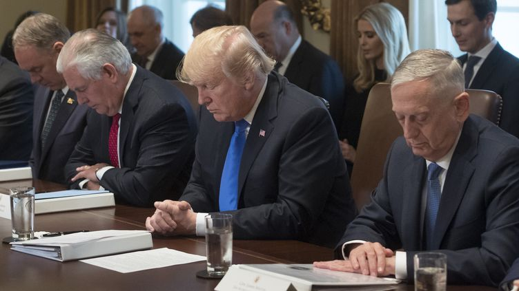 Donald Trump à la Maison Blanche, le 20 décembre 2017. (SAUL LOEB / AFP)