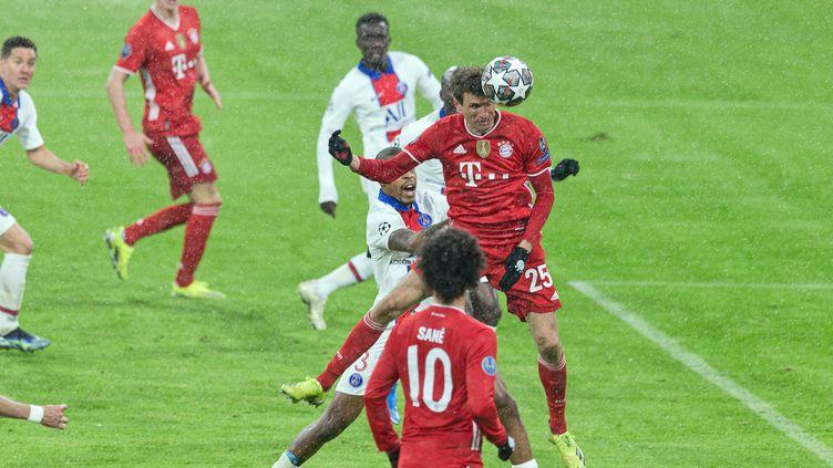 Bayern Munich-PSG, le 4 avril 2021 (WERNER EIFRIED / GES-SPORTFOTO)
