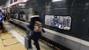 La SNCF lance une grand consultation auprès de 40 000 voyageurs et de ses 250 000 salariés, samedi 22 juillet. (THIBAUD MORITZ / MAXPPP)