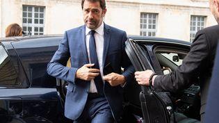 Christophe Castaner, le 24 avril 2019 à l'Ecole militaire de Paris. (BERTRAND GUAY / AFP)