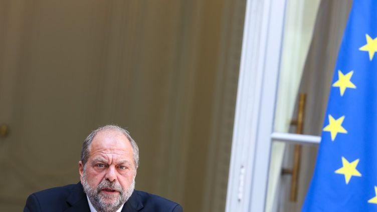 Le ministre de la Justice Eric Dupond-Moretti, le 7 juillet 2020 à Paris. (THIERRY THOREL / NURPHOTO / AFP)