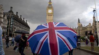A l'heure du Brexit, comment rendre compte de l'événement qui sature l'actualité depuis des années ? (JUSTIN TALLIS / AFP)