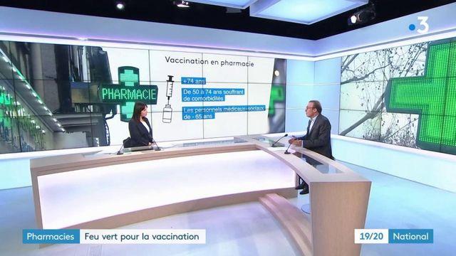 Covid-19 : les pharmacies ont obtenu le feu vert pour vacciner