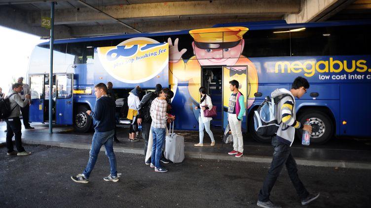 Un carMegabus à Toulouse, le 10 septembre 2015 (REMY GABALDA / AFP)