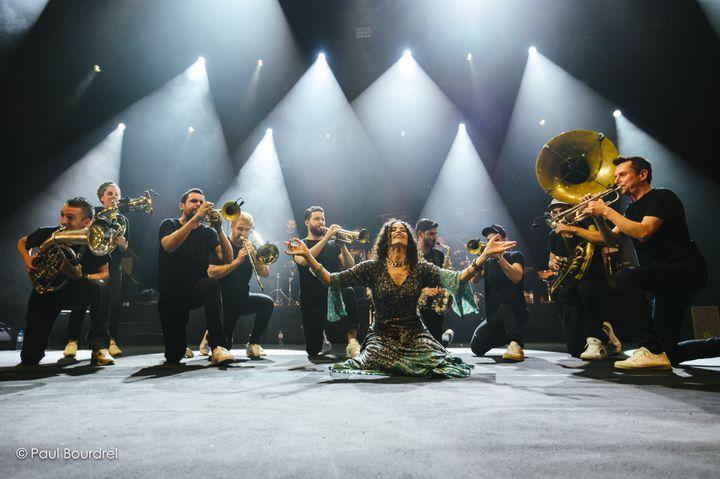 Le Haïdouti Orkestar à Lyon avec Ibrahim Maalouf (Paul Bourdel)