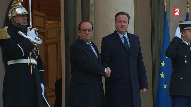 Attentats de Paris: le soutien britannique