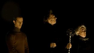 """Répétition de la pièce """"Henry VI"""" à la Filature de Mulhouse  (France 3)"""