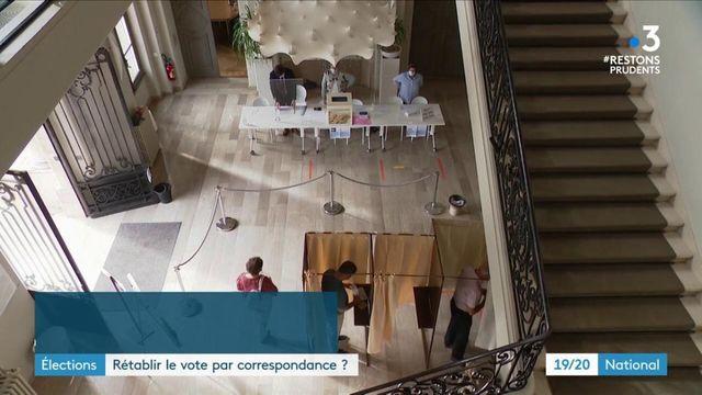 Élection : le retour du vote par correspondance en France ?