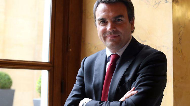Le député et ancien secrétaire d'EtatThomas Thévenoud, ici à Paris le 30 octobre 2012, a annoncé son intention de retourner à l'Assemblée nationale. (THOMAS SAMSON / AFP)