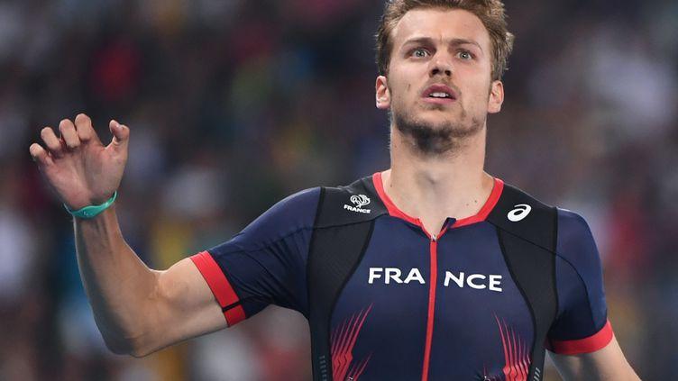 Le sprinteur français Christophe Lemaitre.