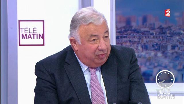 """Les 4 Vérités - Gérard Larcher : """"Les bonnes vieilles techniques de désignation par le chef continuent"""""""