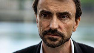 Grégory Doucet, le 17 juin 2020, à Lyon. (NICOLAS LIPONNE / HANS LUCAS / AFP)