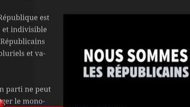 """Un collectif saisit la justice contre l'appellation """"Les Républicains"""""""