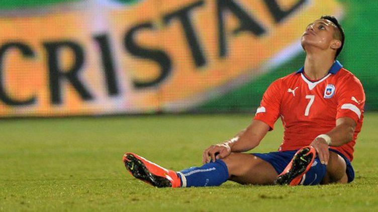 Alexis Sanchez (Chili) (MARTIN BERNETTI / AFP)